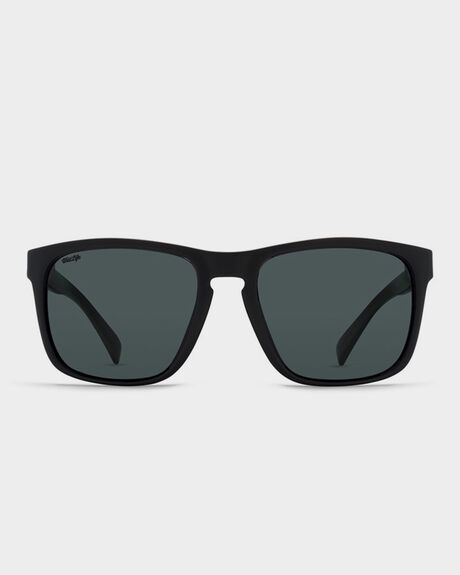 LOMAX BLACK GLOSS POLARISED SUNGLASSES