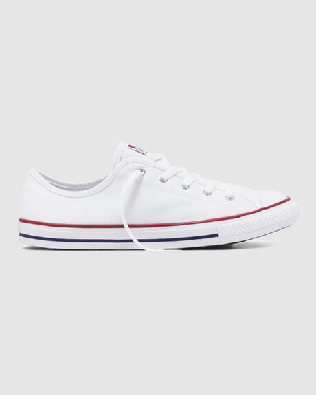WHT CT DAINTY CANVAS LOW