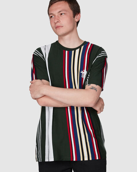 VALLEY VERT YD STRIPE SHORT SLEEVE TEE