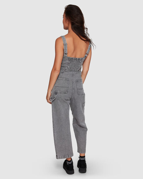 OVERWORKED STRIPE OVERALL