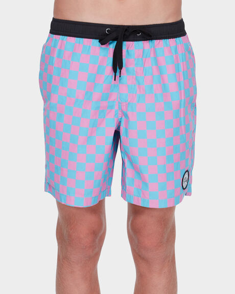 CHECKERS YOUTH BEACH SHORT