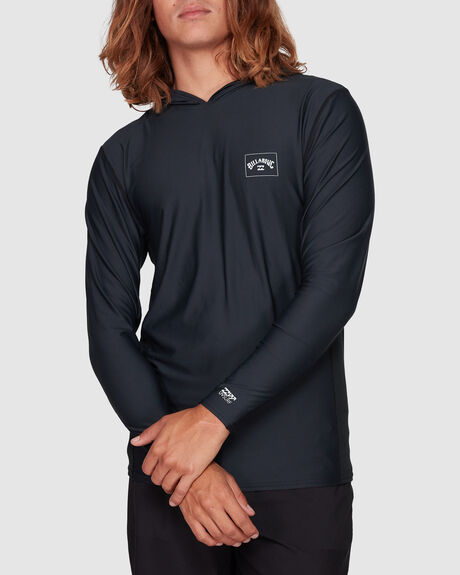 ARCH MESH HOODED LOOSE FIT LS SURF SHIRT