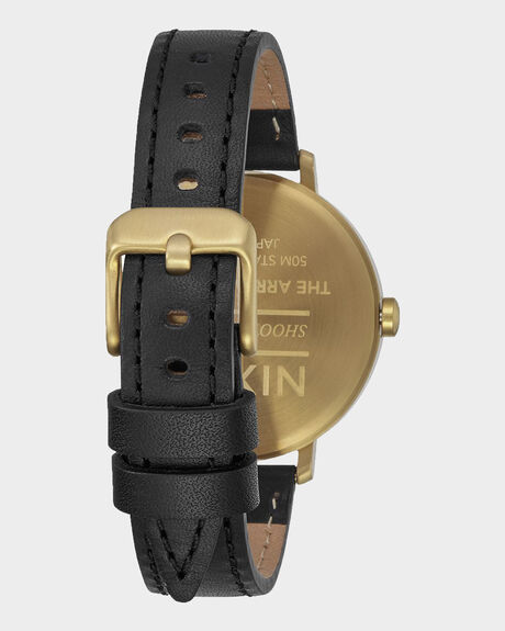 ARROW LEATHER - GOLD BLACK