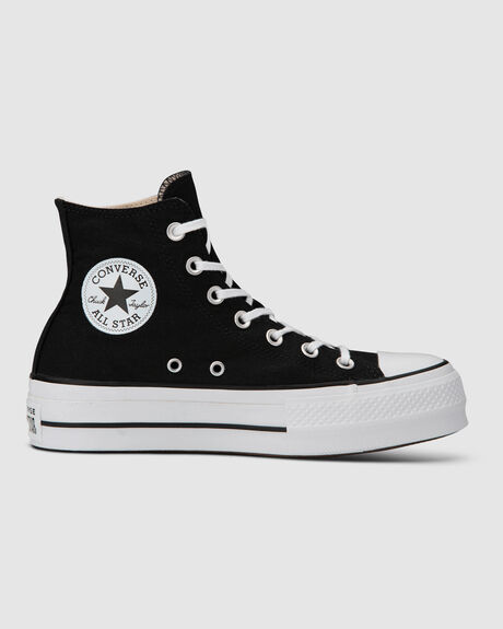 CT LIFT CANVAS HI BLK/WHT
