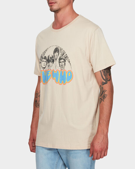 THE WHO PLAIN TEE