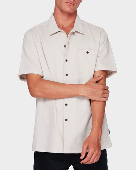 SUNDAYS CORD SHORT SLEEVE SHIRT