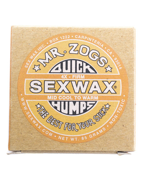 SEXWAX ORANGE - COOL 17 - 21C