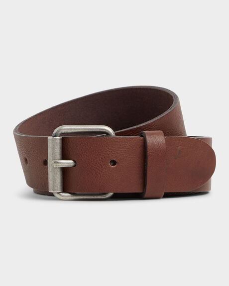 STRINGER LEATHER BELT