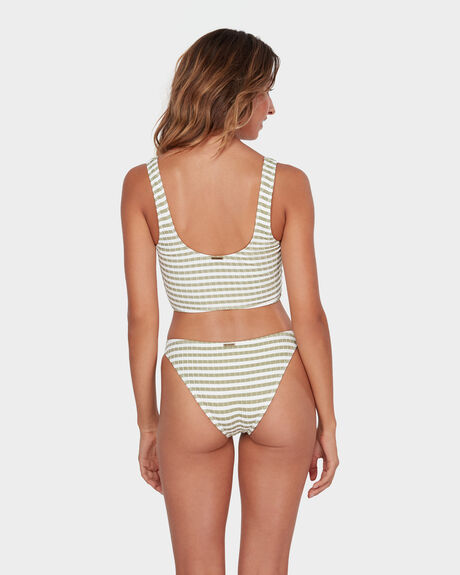 SUNS OUT STRIPE TROPIC BIKINI BOTTOM