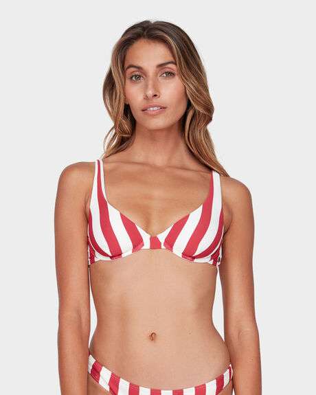 SUNSET STRIPE ELONGATED DEMI BRA