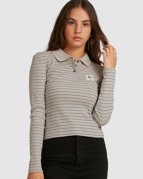 CAREY RIB LS POLO