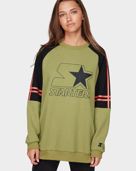STAR LADIES CREW FLEECE JUMPER