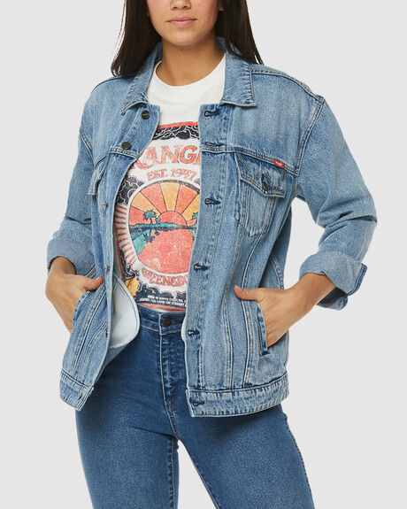 OVERSIZED DENIM JACKET JOURNEY BLUE