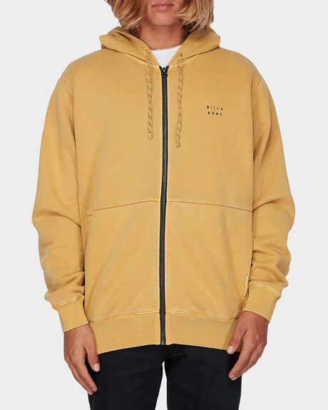 THICKY WAVE WASH ZIP HOODIE