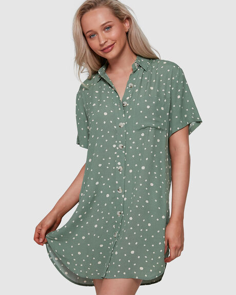 VIBIN SHIRT DRESS