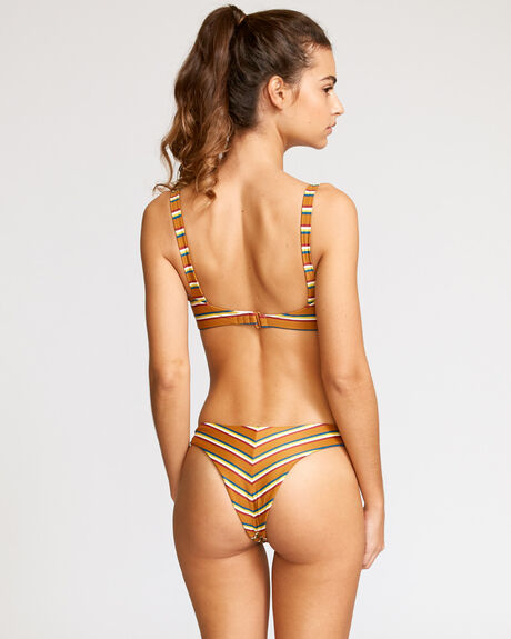 RETRO ROW FRENCH CUT BIKINI BOTTOM