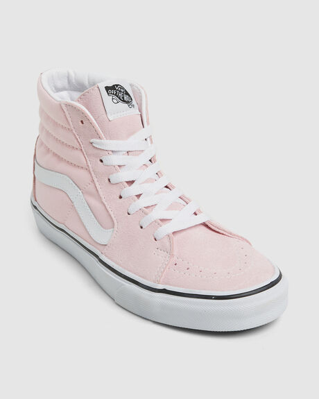 SK8-HI BLUSHING TRUE WHITE SKATE SHOE