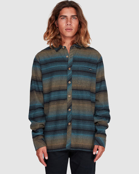 WAVE WASH FLANNEL SHIRT
