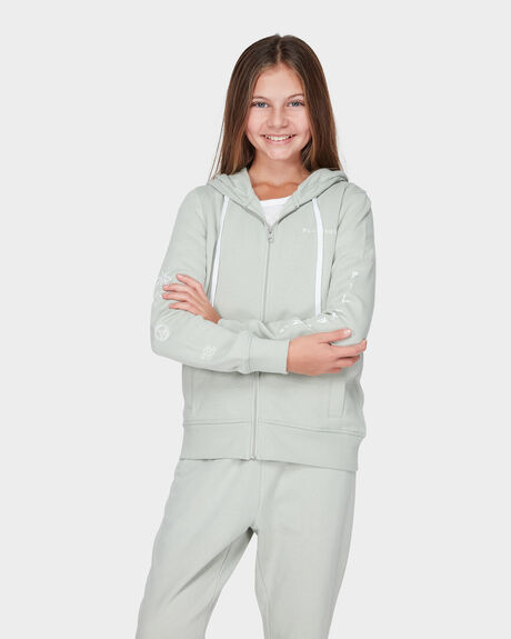 YOUTH WAVELAND HOODED ZIP THRU JUMPER