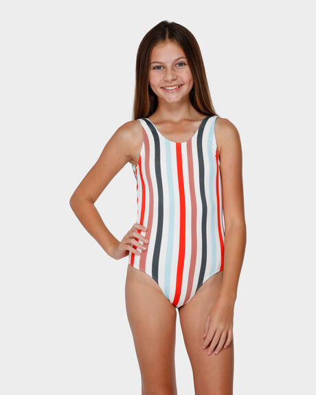FUN FAIR STRIPE ONE PIECE