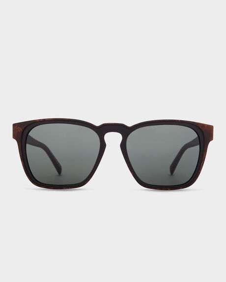 LEVEE RICH MAHOGANY SUNGLASSES