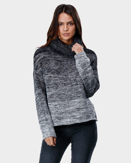 FADE OUT KNIT TURTLENECK