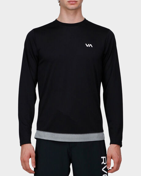 RUNNER MESH LONG SLEEVE TEE
