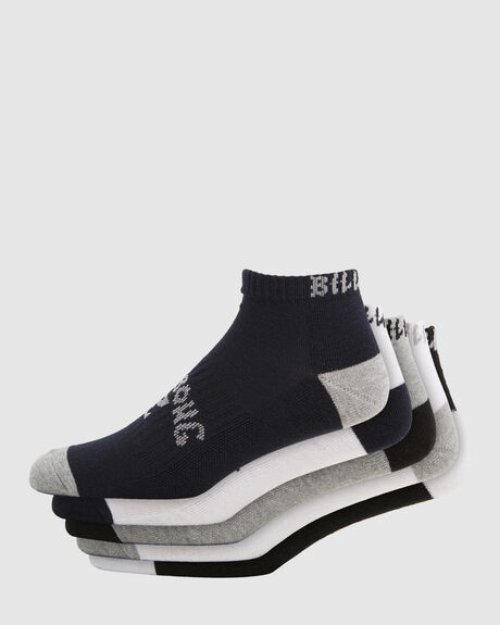 ANKLE SOCKS 5 PACK STD
