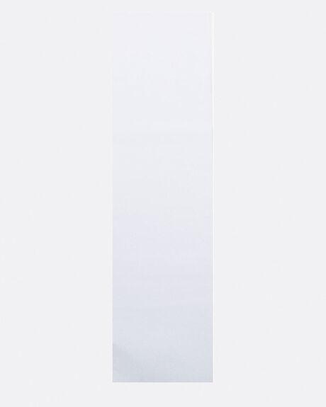 FLUORESCENT WHITE SKATEBOARD GRIPTAPE