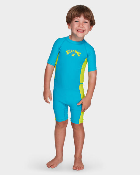 GROMS SHORT SLEEVE UV SWIMSUIT