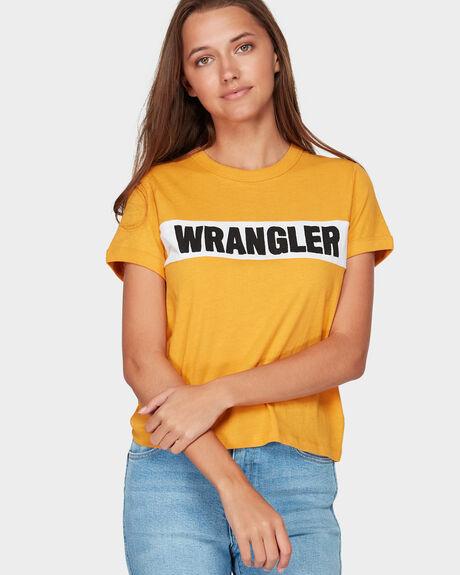 PANEL RINGER VINTAGE GOLD TEE
