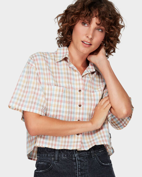CLUED UP SHORTS SLEEVE SHIRT