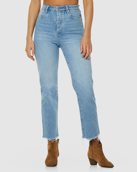 WOMENS LITA STRAIGHT JEAN BLUE STAR