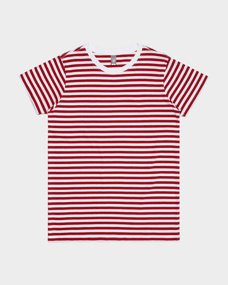 WOMEN'S MAPLE STRIPE TEE
