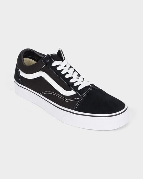 OLD SKOOL VANS BLACK/WHITE SHOE
