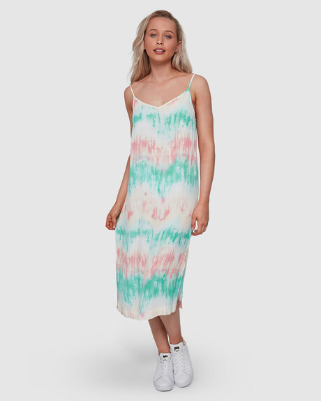TO DYE FOR SLIP DRESS