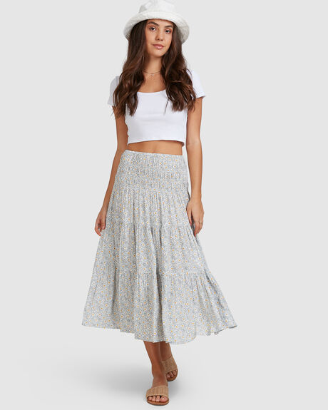 WOMENS CUPID MIDI SKIRT