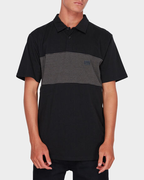 BANDED DIE CUT POLO SHIRT