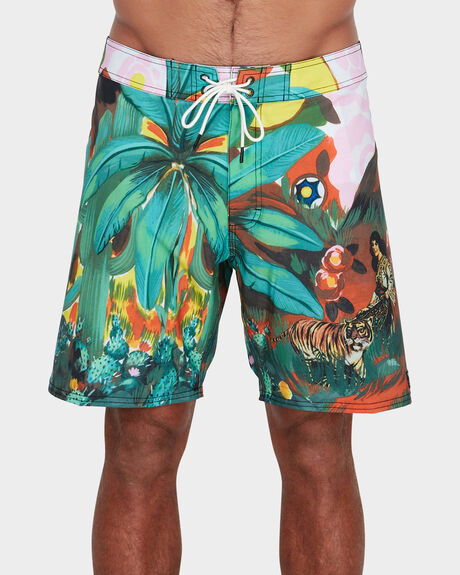 MEL G TIGER PALM BOARDSHORT