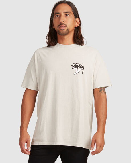 STUSSY ONE WORLD SS TEE