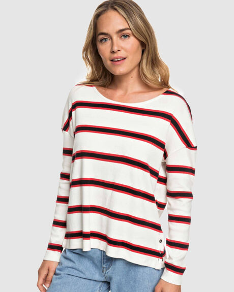 DRESS LIKE A BOY STRIPED LONG SLEEVE TEE
