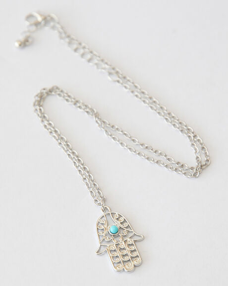 HENNA NECKLACE - SILVER