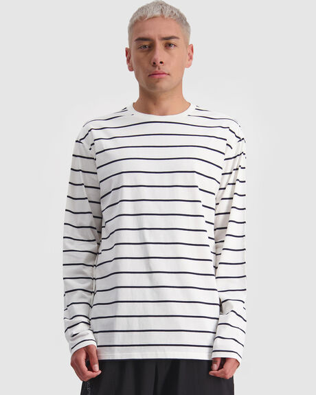 MENS ERA STRIPE LS TEE