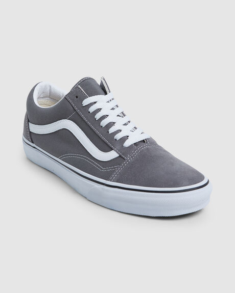 UA OLD SKOOL PEWTER/TRUE WHITE