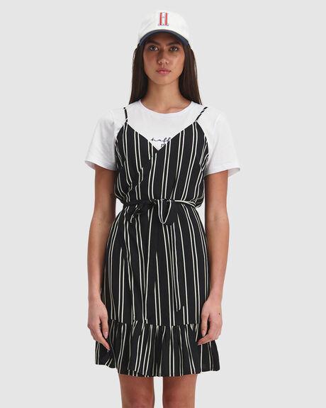 LEBOWSKI WRAP DRESS