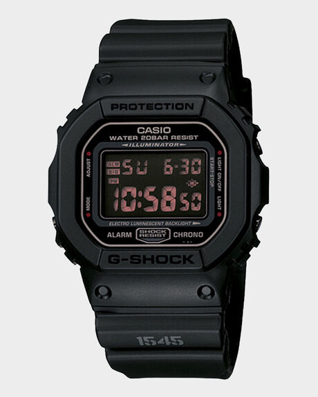 G-SHOCK - MATTE BLACK - DW5600MS-1D