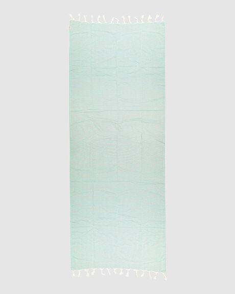 NOOSA TOWEL SEAGREEN BEIGE