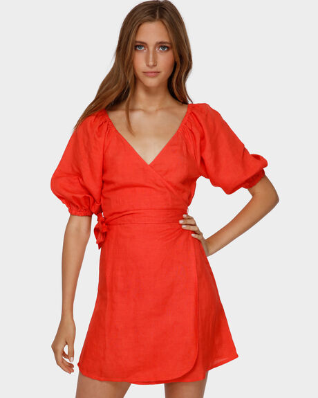 DEL RAY WRAP DRESS