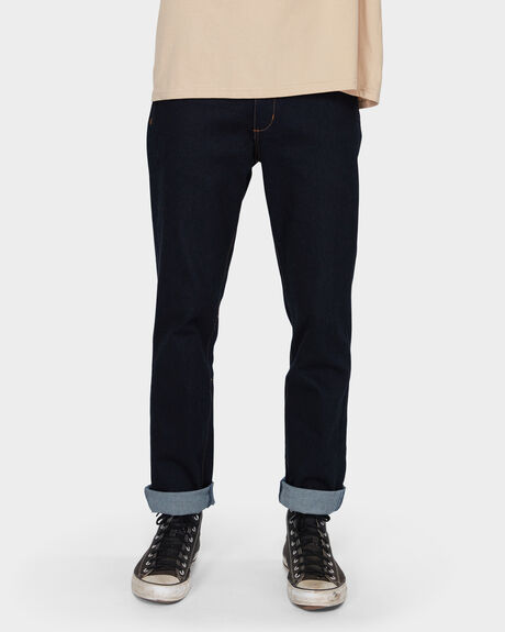 CAPSIZE JEAN STRAIGHT FIT NAVY