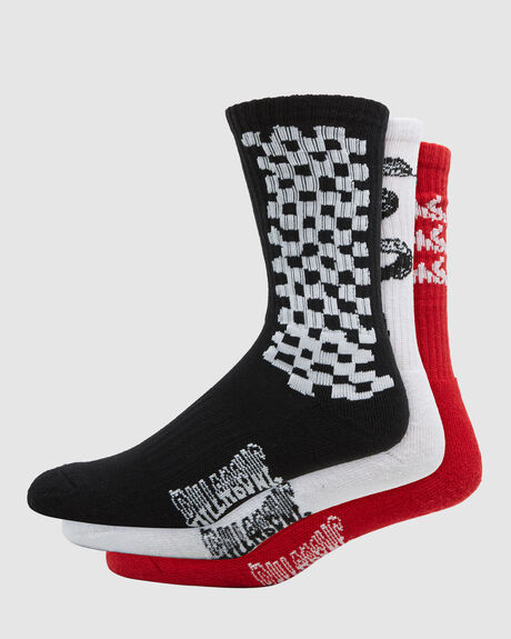 MULTI PLEX SOCKS 3 PACK